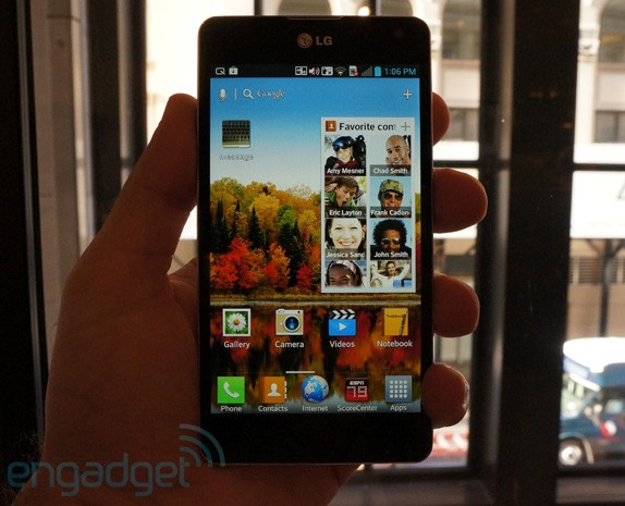 LG Optimus G hands-on redux