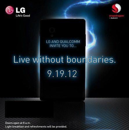 LG and Qualcomm ask us to save the date for yet another September smartphone reveal