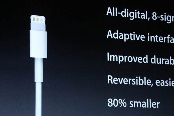 Apple details new dock connector It's called Lightning