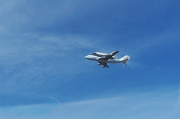Vizualized Bay Area bids adieu to Space Shuttle Endeavour
