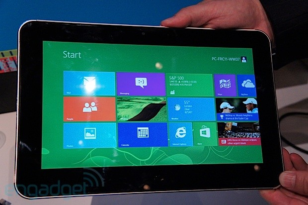 ZTE shows off its first Windows 8 slate, we go handson