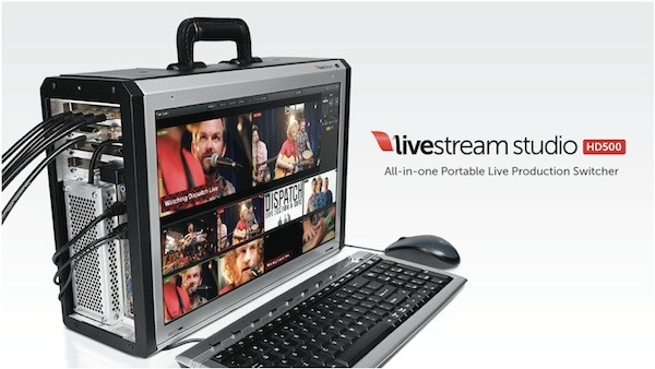 Livestream announces Studio HD500 all-in-one video switcher, ships October 15th for $  8,500