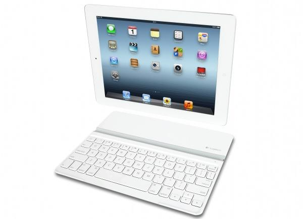 Logitech debuts white Ultrathin Keyboard Cover for the iPad, arriving before month's end