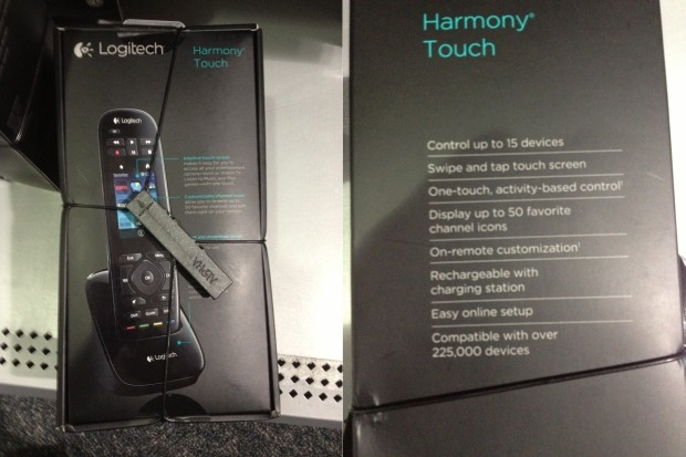 Logitech Harmony Touch remote pops up unannounced at Best Buy