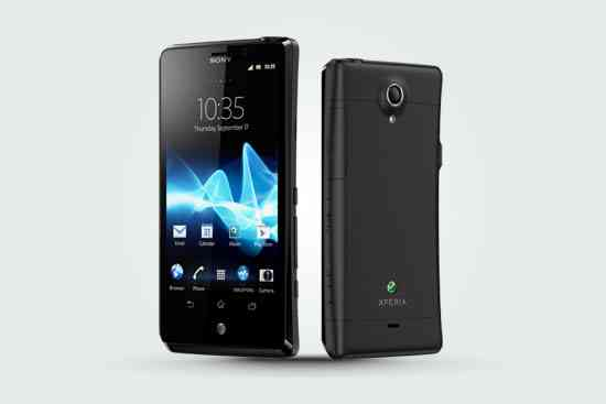 Sony Xperia T shown on UK's Phones4U with AT&T branding