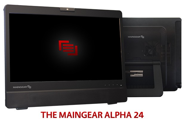 Maingear announces Alpha 24 Super Stock AIO 1080p touchscreen and NVIDIA graphics