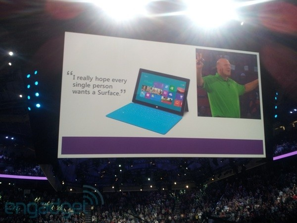 Microsoft gifts all 90,000 employees with Surface tablets plus Windows 8 phones and PCs