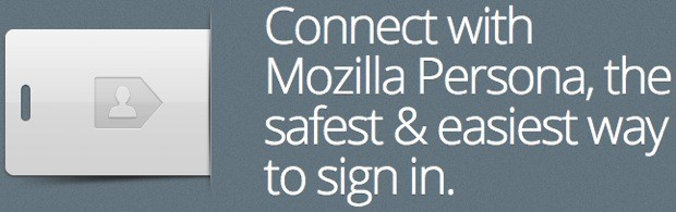 Mozilla Persona signins launch in beta, skip the social networking ball and chain