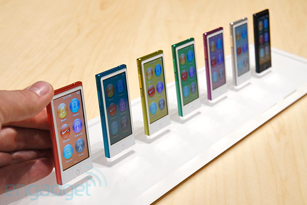 7thgeneration iPod nano handson!