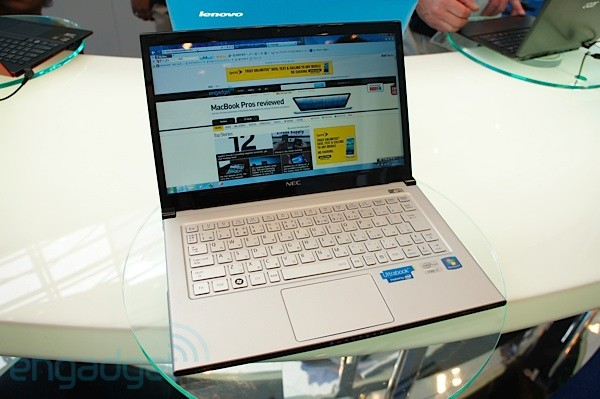 Spotted at IDF NEC's lightweight LaVie Z Ultrabook handson video