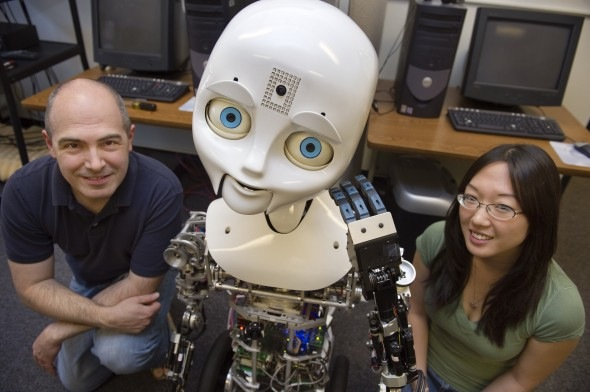 Nexi robot helps Northeastern University reveal shifty body language video
