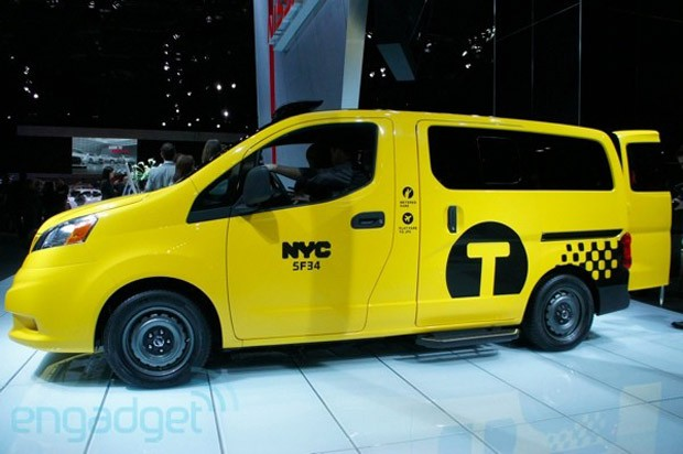New York City, meet your new official taxi the Nissan NV200