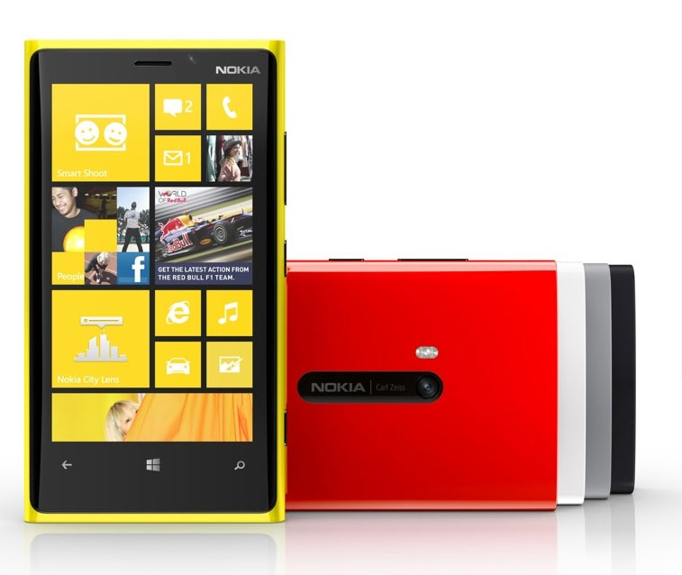 Nokia Lumia 920 official Dualcore 15GHz Snapdragon S4 CPU, 8MP rear PureView camera, Windows Phone 8