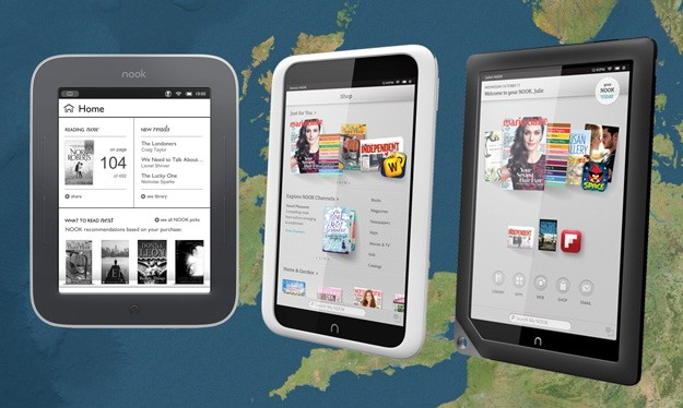 DNP! Barnes and Noble hit the UK, launches Nook Simple Touch, Glowlight and a pair of HD tablets