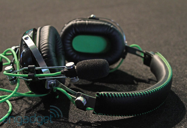 Razer BlackShark gaming headset hands-on