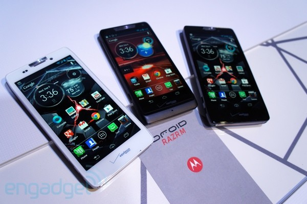 DNP Motorola's new Droid range Meet the Family