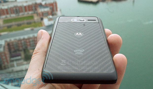 Motorola RAZR i review Intel's 2GHz processor in a small, Android ICS package