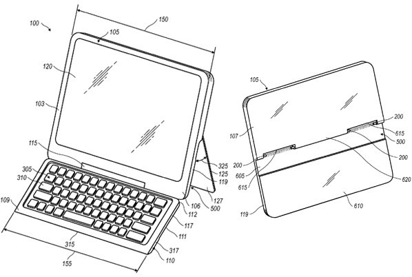 RIM applies for patent on tablet with concealable keyboard, keep your laptop a secret