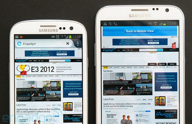 Samsung rolling Jelly Bean out across most of its smartphone, tablet
