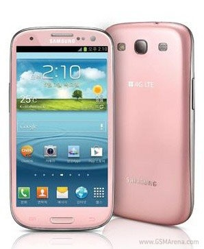 Samsung adds pink to Galaxy SIII palette