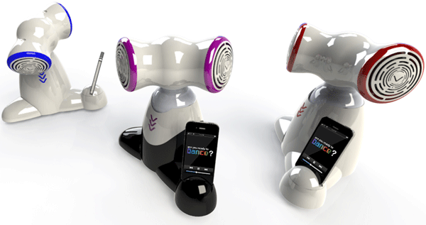 Insert Coin Shimi iPhone robot is ready to dance its way out of the lab, into your heart