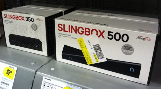 Slingbox 350 and 500 show unannounced in Best Buy, flaunt 1080p and builtin WiFi