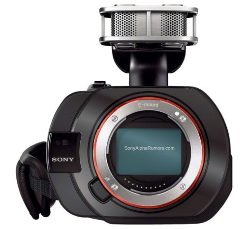 Sony VG900 leaks, packs fullframe sensor into a NEX camcorder
