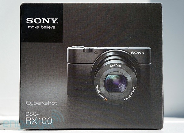 Engadget Giveaway win a Sony Cybershot DSCRX100, courtesy of IceMonkey!