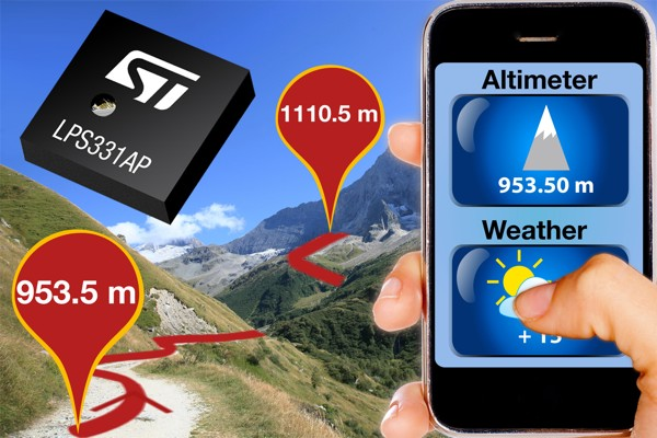 STMicroelectronics details pressure sensor in your Galaxy S III, can tell when you're mountaineering