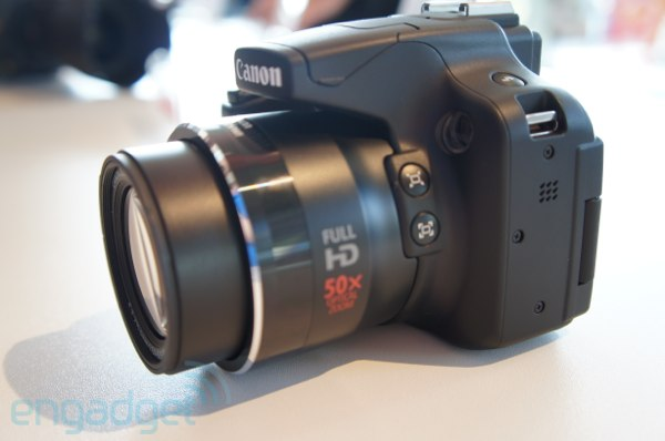 Canon PowerShot SX50 HS hands-on