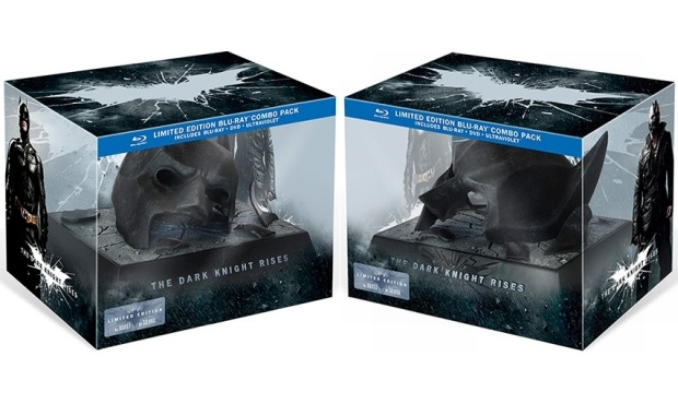 The Dark Knight Rises Bluray officially set for December 4th, limited edition Bat cowl revealed
