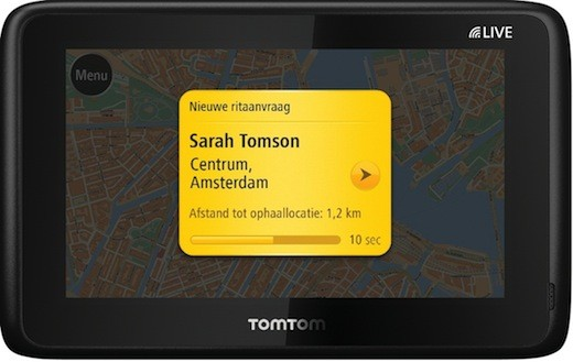 TomTom confirms new taxiordering service,