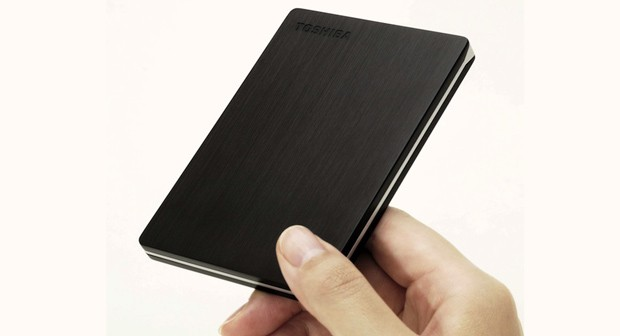 Toshiba reaches out to the Ultrabook set with a 9mmthick Canvio Slim portable hard drive