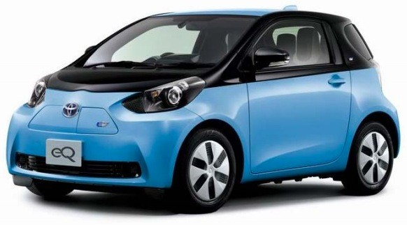 Toyota plans limited launch of eQ and iQ EV in December
