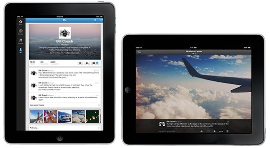 Twitter revamps its iPad app for expanded content, adds header shots and photo streams