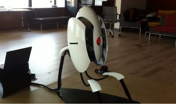 Valve taunts us with prospect of official Portal 2 sentry turret replica video
