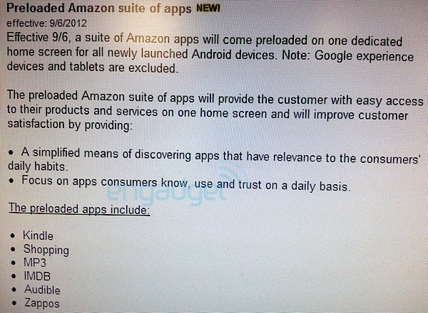 Verizon adding suite of Amazon apps to all new Android devices