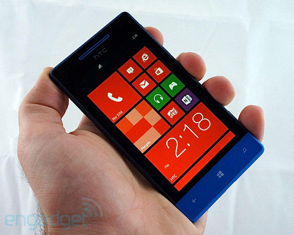 HTC Windows Phone 8S handson video