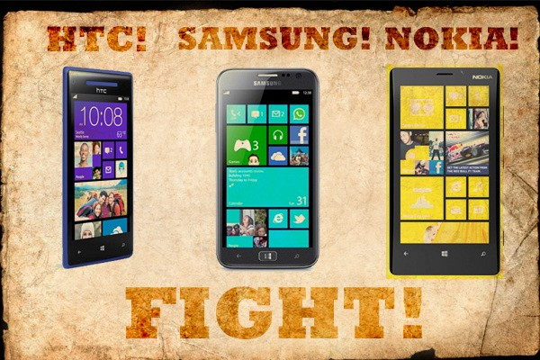 DNP HTC's Windows Phone 8X vs the competition fight!