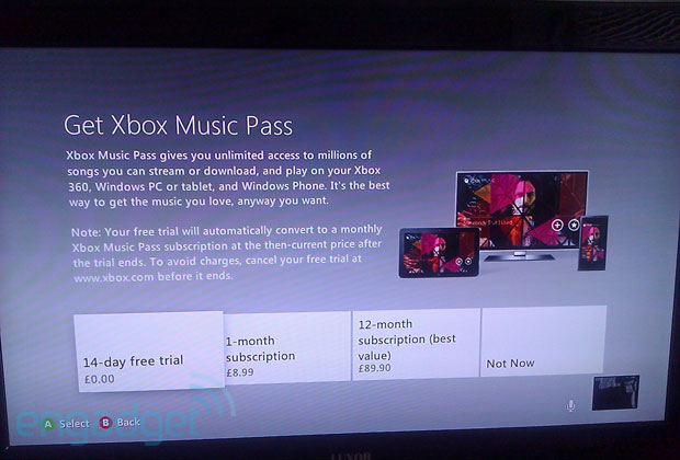 Dashboard beta leaks new Xbox Music Pass Cloud playlists and early pricing revealed