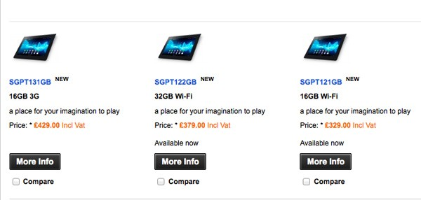 Xperia Tablet S now shipping on Sony's UK site