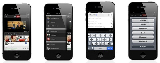 YouTube releases standalone app for iOS, tablettailored version in the works