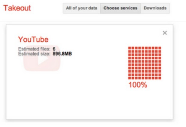 DNP Google gives an easy out, adds YouTube to Takeout data transfer tool