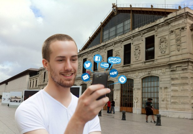 GOWEX bringing free WiFi to French rail stations