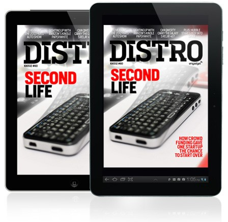 Distro Issue 60 Infinitec's rebirth gets Kickstarted in the Dubai Desert