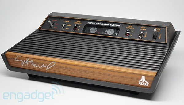 Engadget Giveaway win an exclusive Atari 2600 with PC components!