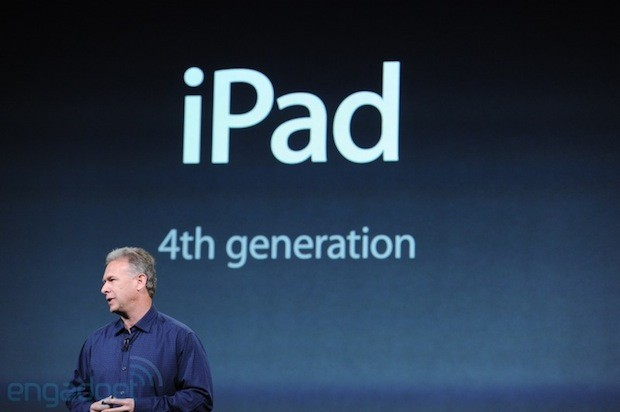 Apple announces 4th generation iPad
