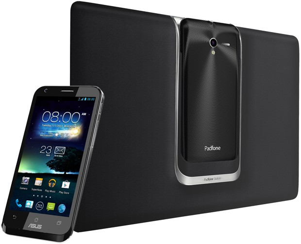 ASUS PadFone 2 unveiled in Taiwan, packs quadcore chip, NFC and lighter tablet