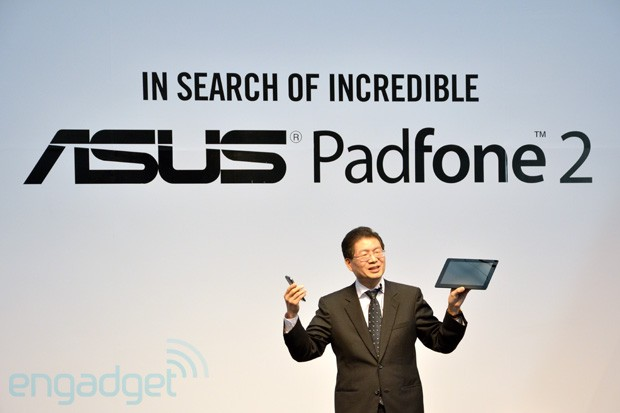 ASUS announces PadFone 2 availability in Europe and Asia regions