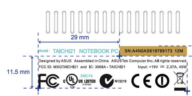 ASUS Tai Chi convertible laptop hits the FCC